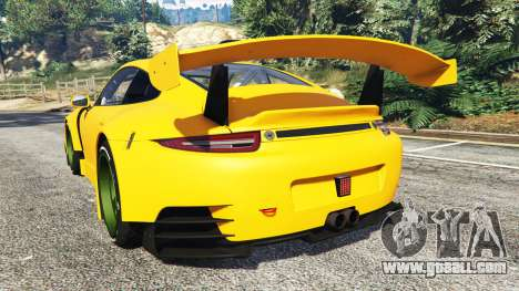 GTA 5 Ruf RGT-8 rear left side view