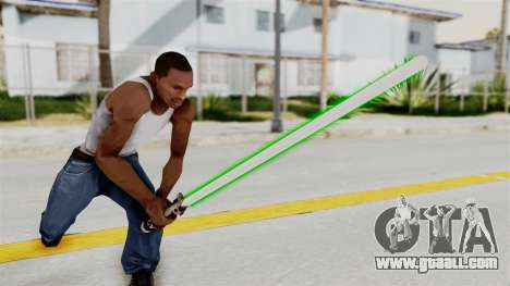 Star Wars LightSaber Green for GTA San Andreas