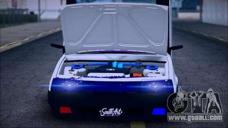 VAZ 2108 Lambo for GTA San Andreas back left view