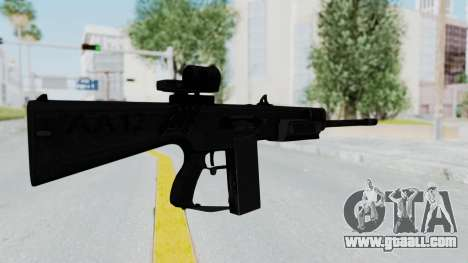 AA-12 for GTA San Andreas second screenshot