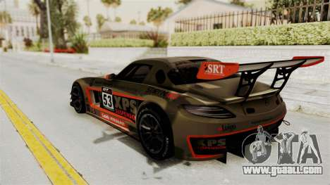 Mercedes-Benz SLS AMG GT3 PJ4 for GTA San Andreas interior