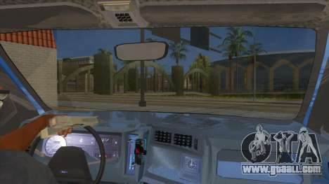 Ford Sierra 1.6 GL Updated for GTA San Andreas inner view