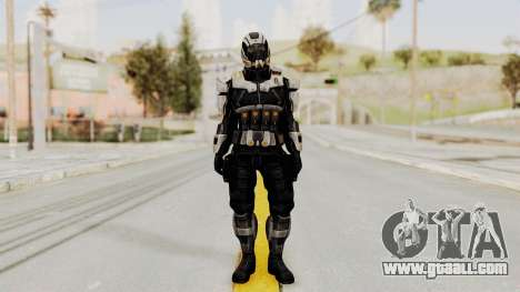 Mass Effect 3 Shepard Ajax Armor with Helmet for GTA San Andreas second screenshot
