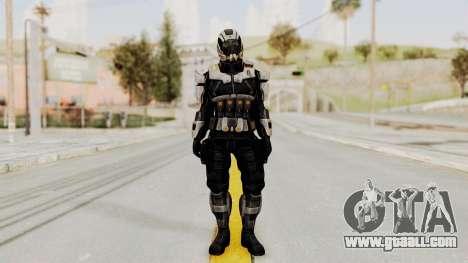 Mass Effect 3 Shepard Ajax Armor with Helmet for GTA San Andreas second screenshot