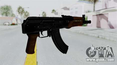 AK-47U for GTA San Andreas third screenshot