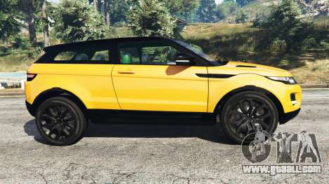 GTA 5 Range Rover Evoque left side view