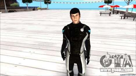 Star Trek Spock for GTA San Andreas