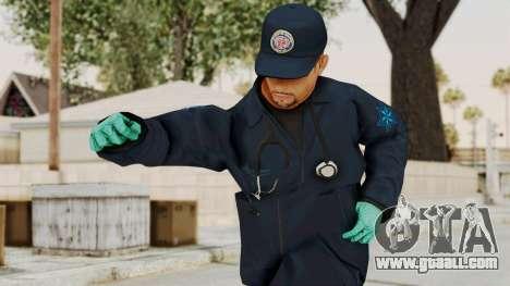GTA 5 Paramedic SF for GTA San Andreas