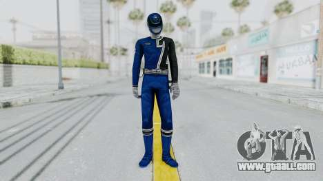 Power Rangers S.P.D - Blue for GTA San Andreas second screenshot