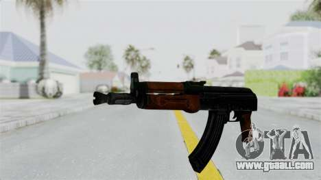 AK-47U for GTA San Andreas second screenshot