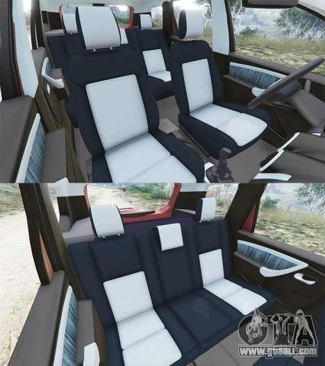 Dacia Duster 2014 for GTA 5