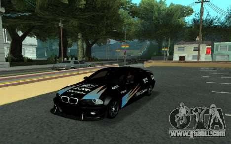 BMW M3 E46 Tunable for GTA San Andreas side view