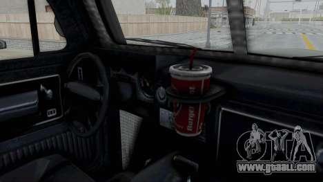 GTA 5 Bravado Duneloader Cleaner IVF for GTA San Andreas inner view
