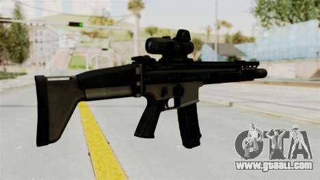 SCAR MK16 for GTA San Andreas second screenshot