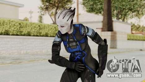 Mass Effect 3 Liara DLC Alt Costume for GTA San Andreas