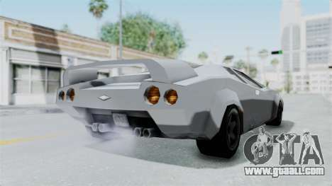 GTA Vice City - Infernus for GTA San Andreas back left view