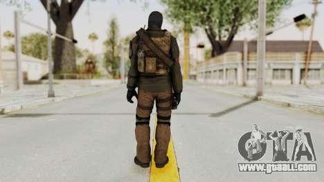CoD AW KVA LMG for GTA San Andreas third screenshot