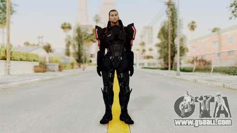 Mass Effect 3 Shepard N7 Destroyer Armor for GTA San Andreas second screenshot