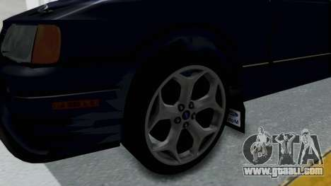 Ford Sierra Turnier 4x4 Saphirre Cosworth for GTA San Andreas back view