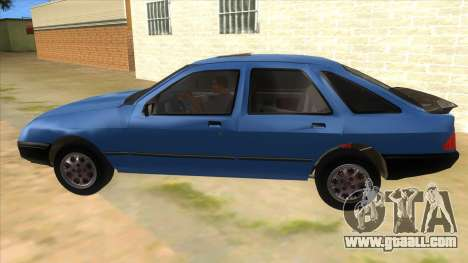 Ford Sierra 1.6 GL Updated for GTA San Andreas left view