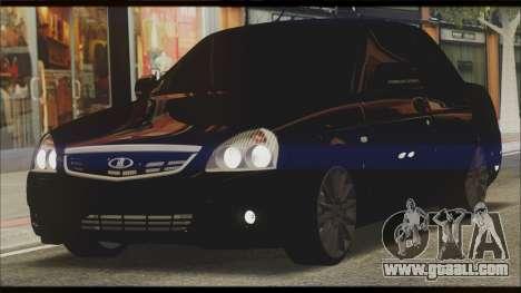 Lada Priora Sedan for GTA San Andreas