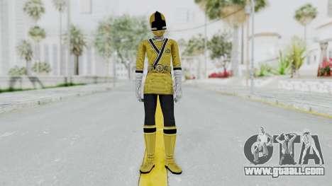 Power Rangers Samurai - Yellow for GTA San Andreas second screenshot