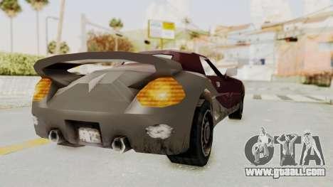 GTA 3 Yakuza Stinger for GTA San Andreas right view