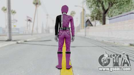 Power Rangers S.P.D - Pink for GTA San Andreas third screenshot