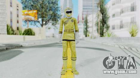 Power Rangers Wild Force - Yellow for GTA San Andreas second screenshot