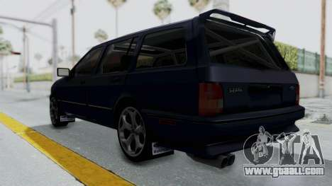Ford Sierra Turnier 4x4 Saphirre Cosworth for GTA San Andreas right view