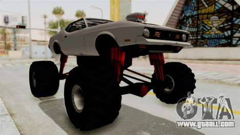 Ford Mustang 1971 Monster Truck for GTA San Andreas right view