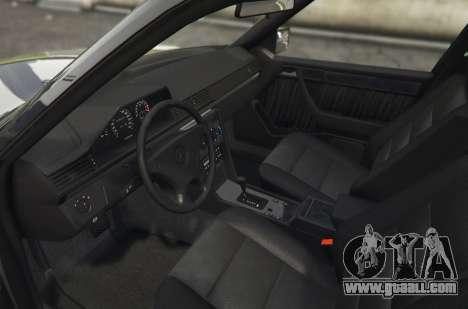 GTA 5 Mercedes-Benz E500 rear left side view