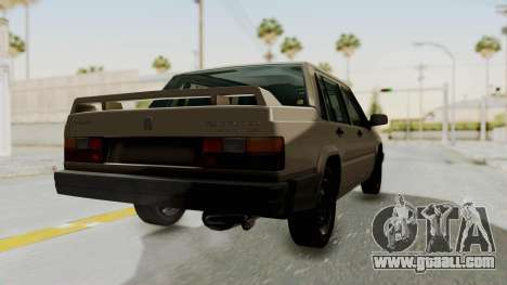 Volvo 740 for GTA San Andreas left view