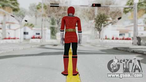 Power Rangers Samurai - Red 2 for GTA San Andreas third screenshot