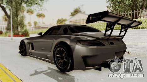 Mercedes-Benz SLS AMG GT3 PJ4 for GTA San Andreas left view
