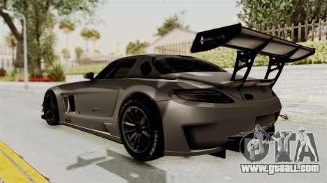 Mercedes-Benz SLS AMG GT3 PJ4 for GTA San Andreas left view