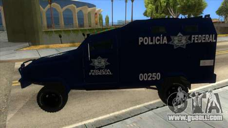 Black Scorpion Police for GTA San Andreas left view