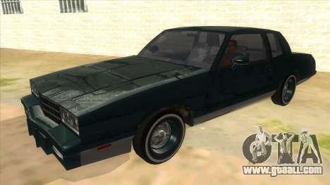 Chevrolet Monte Carlo 81 for GTA San Andreas