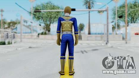 Power Rangers Samurai - Gold for GTA San Andreas third screenshot