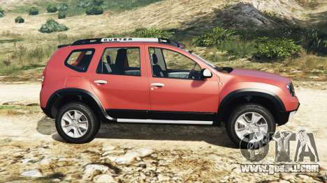 GTA 5 Dacia Duster 2014 left side view