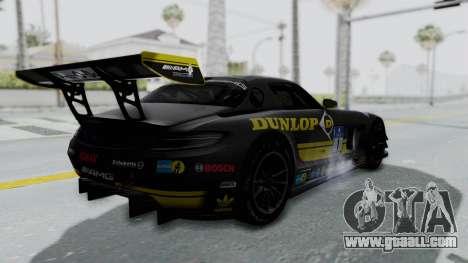 Mercedes-Benz SLS AMG GT3 PJ7 for GTA San Andreas wheels