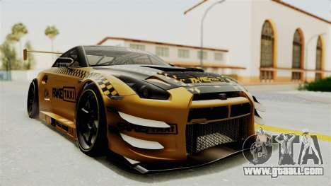 Nissan GT-R Fake Taxi for GTA San Andreas