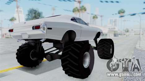 Ford Gran Torino 1972 Monster Truck for GTA San Andreas right view