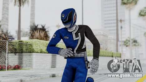 Power Rangers S.P.D - Blue for GTA San Andreas