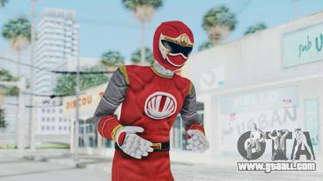 Power Rangers Ninja Storm - Red for GTA San Andreas