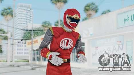 Power Rangers Ninja Storm - Red for GTA San Andreas