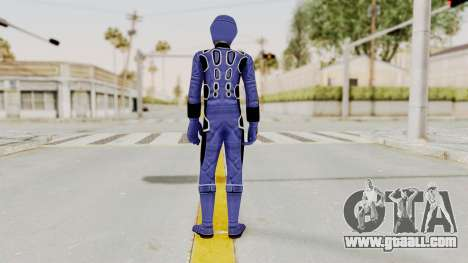 Power Rangers Jungle Fury - Blue for GTA San Andreas