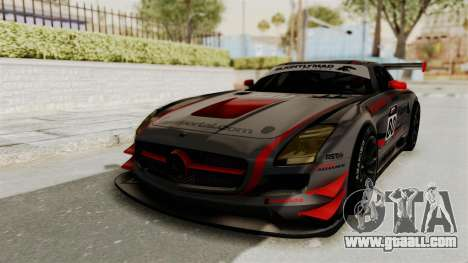 Mercedes-Benz SLS AMG GT3 PJ4 for GTA San Andreas engine