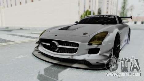 Mercedes-Benz SLS AMG GT3 PJ7 for GTA San Andreas back left view