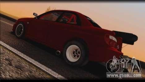 Subaru Impreza STi Drag Racing Unlim 500 for GTA San Andreas right view